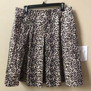Beautiful leopard skirt